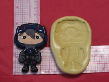 Hero Character Silicone Push Mold Cookie #179 Candy Chocolate Resin Clay Fondant