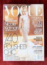 Vogue Magazine ~ September 2003 ~ Nicole Kidman Penn Hugh Jackman Carolyn Murphy