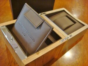 Brand New GIRARD PERREGAUX Wooden Watch Jewellery Box