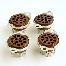 4 Nixie Tube Sockets for NL840, NL841, NL842, etc nixie tubes US made RTS14