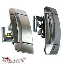 New Pair Left Right Outside Outer Door Handle For Nissan 350Z 2003-2009 Silver