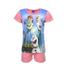 DISNEY pyjashort LA REINE DES NEIGES 4 5 6 ou 8 ans pyjama pyjacourt rose