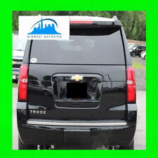 2015-2018 CHEVY TAHOE SUBURBAN CHROME REAR BUMPER TAILGATE TRUNK TRIM MOLDING