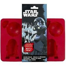 Star Wars - BB-8 And R2-D2 Silicone Ice Tray / Mould - New & Official Disney