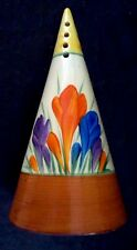 """clarice cliff """"Crocus"""" Conical Sugar Sifter"""