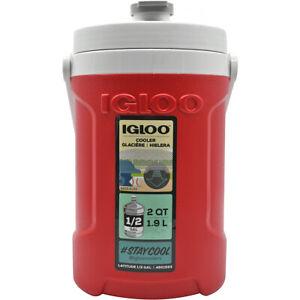 IGLOO Latitude Half Gallon Water Jug - Red