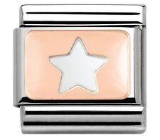nomination charm Rose Gold Star