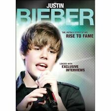 ~ JUSTIN BIEBER: A RISE TO FAME ~ DVD 2011 BIOGRAPHY BUY5+MXDGETFREE LOTSHIPPING