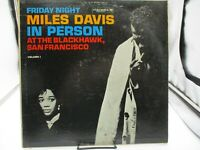 Miles Davis in Person At The Blackhawk S.F.CL1669, 6Eye Mono VG/VG+ c VG