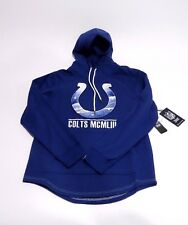 Indianapolis Colts NFL Men's Embroidered Fleece Pullover Hoodie Sweats Small S