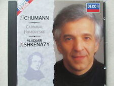 Vladimir Ashkenazy - Schumann - Carnaval Humoreske - CD West Germany no ifpi