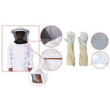 Imkerjacke Beekeepers Schutzanzug Hut Schleier Imker Jacke Imkerei Handschuhe