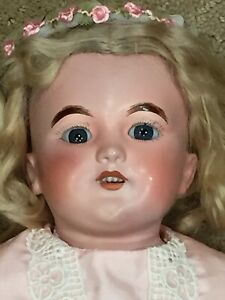 Antique German Doll S & H 1250  21 inches tall