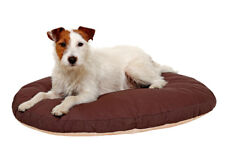 Hundekissen Karlie – Hundebett Kissen oval  110 cm x 80 cm x 12 cm