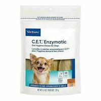 CET Enzymatic Chews For Dogs, X-SMALL Under 11 lbs, 30 Chews, Orange