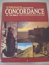 Strong's Exhaustive Concordance of the Bible by James Strong (Hardback) 1984