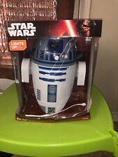 New Disney Star Wars R2D2 3D Deco Light Wall Mount Cordless LED Bulbs Nightlight