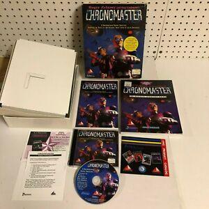 VTG Chronomaster Capstone PC CD-ROM Game Big Retail Box & Strategy Guide 1995