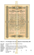 Bulgarian Bonds Catalogue for the first time ever, new scripophily edition 2020