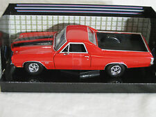 Motor Max 1/24 1970 Chevy El Camino SS3 96 RED 79347 Diecast Model Car MMX105