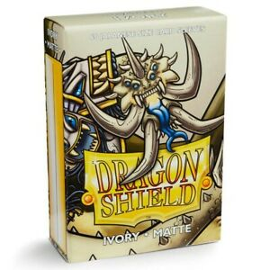 Dragon Shields Matte Ivory Japanese/Small Standard Protector Card Sleeves