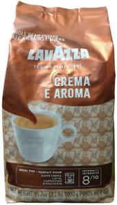 LavAzza Crema E Aroma Coffee - Whole Bean - 1 kg (2.20 lbs) with chocolate notes