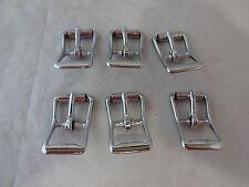 """Lot of 6 Roller Buckles #Z150 NP Horse Tack 3/4 """" Weaver Leather Belt Hardware"""