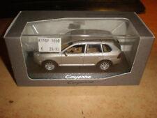 MINICHAMPS  1/43 Porsche Cayenne  silver/creme metallic   Mint in dealerbox