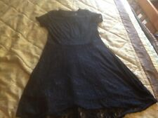 Lace Black Dress Size 14-16