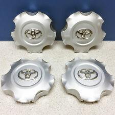'13-15 Toyota Land Cruiser # 69618 5 Spoke Aluminum Wheel Rim Center Caps SET/4