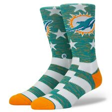Stance NFL Miami DolphinsBanner Socks Men SizeL 9-12