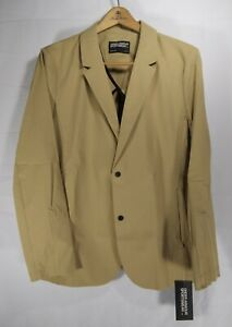 Under Armour Sportswear Blazer Jacket Men's Size Large Tan Nylon MSRP $200