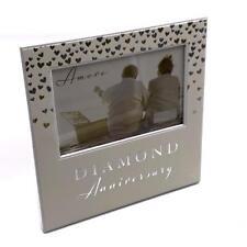 60th Diamond Wedding Anniversary Gift Photo Frame WG92960