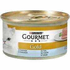 Purina Gourmet Gold Wet Cat Food Pet Snack Treats Nutritious Tuna Flavor 85g