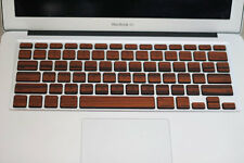 "REAL WOOD ROSEWOOD MACBOOK KEYBOARD SKIN FOR MACBOOK PRO RETINA 13"" PRO 13"""