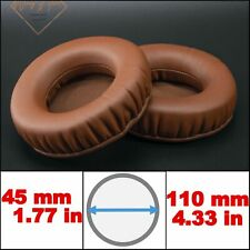Brown Coffee Full Size Thick Memory Foam Cushions Replacement Ear Pads Headphone