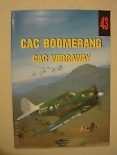 CAC Boomerang/CAC Wirraway Wydawnictwo Militaria #43 Polish / Eng. Photo Caption