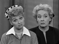 I Love Lucy With Ethel Lucille Ball and Vivian Vance 8x10 Photo