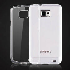 For Samsung Galaxy S2 i9100 i9105 s2 plus Ultra Thin Clear Gel skin Case Cover