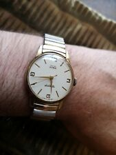 Beautiful antique Smiths Astral Men's 17-jewel wristwatch with original strap