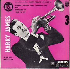 """45 T EP HARRY JAMES """"HERNANDO'S HIDEAWAY"""""""