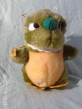 GODZILLA Plush, Felt & Pleather Banpresto Tag Vintage 1991 RARE 2 Hangers Cute