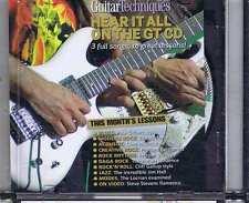 PAUL GILBERT / DRAGONFORCE / CHET ATKINS CD GUITAR TECHNIQUES 125 2006