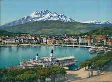 Luzern und Pilatus PZ vintage photochromie, photochrom photochromie, vintage p