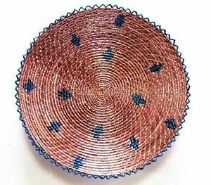 """Classic World Rugs 14"""" Inches Hand-Woven Southwestern Design Basket Brbsf-183"""