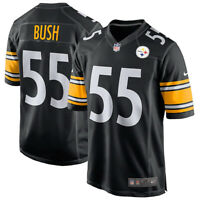Brand New 2020 NFL Nike Pittsburgh Steelers Devin Bush #55 Game Edition Jersey