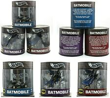 Set of 3 Hot Wheels Batman's Batmobile Oil Can Series Limited Edition (NEW)