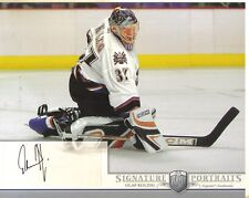 2006-07 BAP PORTRAITS - OLAF KOLZIG  8 X 10  AUTOGRAPHED PHOTO