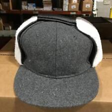 1 GRAY QUALITY WINTER HAT CLOSEOUT Pugs Gear with Furlike Winter Earflap.