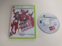 High School Musical 3: Senior Year Dance Microsoft Xbox 360 Game and Case